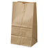 "<strong>General</strong><br />Grocery Paper Bags, 40 lbs Capacity, #25 Squat, 8.25""w x 6.13""d x 15.88""h, Kraft, 500 Bags"