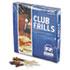"<strong>AmerCareRoyal®</strong><br />Club Cellophane-Frill Wood Picks, 4"", Assorted, 10000/Carton"