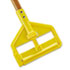<strong>Rubbermaid® Commercial</strong><br />Invader Side-Gate Wood Wet-Mop Handle, 1 dia x 60, Natural