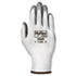 <strong>AnsellPro</strong><br />HyFlex Foam Gloves, White/Gray, Size 9, 12 Pairs