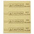 """<strong>Rubbermaid® Commercial</strong><br />Over-the-Spill Pad, """"Caution Wet Floor"""", Yellow, 16 1/2"""" x 20"""", 22 Sheets/Pad"""