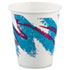 <strong>Dart®</strong><br />Jazz Paper Hot Cups, 6oz, Polycoated, 50/Bag, 20 Bags/Carton