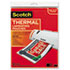 """<strong>Scotch&#8482;</strong><br />Laminating Pouches, 3 mil, 9"""" x 11.5"""", Gloss Clear, 20/Pack"""