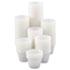 <strong>Dart®</strong><br />Polystyrene Portion Cups, 4 oz, Translucent, 250/Bag, 10 Bags/Carton