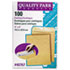 <strong>Quality Park&#8482;</strong><br />Catalog Envelope, #1, Cheese Blade Flap, Gummed Closure, 6 x 9, Brown Kraft, 100/Box