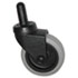 "<strong>Rubbermaid® Commercial</strong><br />Replacement Swivel Bayonet Casters, 3"" Wheel, Thermoplastic Rubber, Black"
