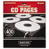 <strong>Vaultz®</strong><br />Two-Sided CD Refill Pages for Three-Ring Binder, 50/Pack