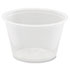 <strong>Dart®</strong><br />Conex Complements Portion/Medicine Cups, 4oz, Clear, 125/Bag, 20 Bags/Carton