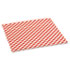 <strong>Bagcraft</strong><br />Grease-Resistant Paper Wraps and Liners, 12 x 12, Red Check, 1000/Box, 5 Boxes/Carton