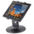 "<strong>Kantek</strong><br />Stand for 7"" to 10"" Tablets, Swivel Base, Plastic, Black"