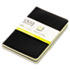 <strong>TOPS&#8482;</strong><br />Idea Collective Journal, Wide/Legal Rule, Black Cover, 5.5 x 3.5, 40 Sheets, 2/Pack
