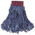 <strong>Rubbermaid® Commercial</strong><br />Super Stitch Blend Mop Head, Large, Cotton/Synthetic, Blue, 6/Carton