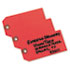 <strong>Avery®</strong><br />Unstrung Shipping Tags, Paper, 4 3/4 x 2 3/8, Red, 1,000/Box