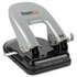 <strong>Bostitch®</strong><br />EZ Squeeze Two-Hole Punch, 40-Sheet Capacity, Black/Silver