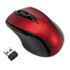 <strong>Kensington®</strong><br />Pro Fit Mid-Size Wireless Mouse, 2.4 GHz Frequency/30 ft Wireless Range, Right Hand Use, Ruby Red
