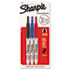 <strong>Sharpie®</strong><br />Retractable Permanent Marker, Extra-Fine Needle Tip, Assorted Colors, 3/Set