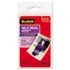 """<strong>Scotch&#8482;</strong><br />Self-Sealing Laminating Pouches, 9.5 mil, 2.81"""" x 3.75"""", Gloss Clear, 5/Pack"""
