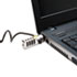 <strong>Kensington®</strong><br />WordLock Portable Combination Laptop Lock, 6ft Steel Cable, Black