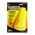<strong>Master Caster®</strong><br />Giant Foot Doorstop, No-Slip Rubber Wedge, 3.5w x 6.75d x 2h, Safety Yellow