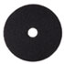 "<strong>3M&#8482;</strong><br />Low-Speed Stripper Floor Pad 7200, 20"" Diameter, Black, 5/Carton"