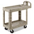 <strong>Rubbermaid® Commercial</strong><br />Utility Cart, 500-lb Capacity, 17.25w x 30d, Beige