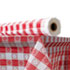 "<strong>Atlantis Plastics</strong><br />Plastic Table Cover, 40"" x 300 ft Roll, Red Gingham"