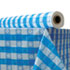 """<strong>Atlantis Plastics</strong><br />Plastic Table Cover, 40"""" x 300 ft Roll, Blue Gingham"""