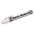 ITW40008 - BRITE-MARK 40 Paint Marker, Bullet Tip, White