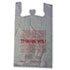 "<strong>Barnes Paper Company</strong><br />Thank You High-Density Shopping Bags, 18"" x 30"", White, 500/Carton"
