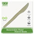"<strong>Eco-Products®</strong><br />Plant Starch Knife - 7"", 50/Pack"