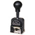 <strong>Bates®</strong><br />Royall Economy Numbering Machine, Six Wheels, Pre-Inked/Re-Inkable, Black