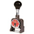 <strong>Bates®</strong><br />Multiple Movement Numbering Machine, Six Wheels, Re-Inkable, Size E, Black