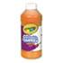 <strong>Crayola®</strong><br />Artista II Washable Tempera Paint, Orange, 16 oz