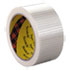 "MMM8959 - Bi-Directional Filament Tape, 50mm x 50m, 3"" Core, Clear"