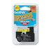 """<strong>Brother P-Touch®</strong><br />M Series Tape Cartridge for P-Touch Labelers, 0.47"""" x 26.2 ft, Black on Yellow"""