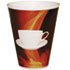 PCTHCL16STE160 - Paper Wrapped Foam Hot Cups, 16oz, Black/White, 160/Carton