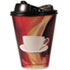 PCTHCL20STE90 - Paper Wrapped Foam Hot Cups, 20oz, Black/White, 90/Carton