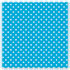 "PAC0057425 - Fadeless Designs Bulletin Board Paper, Classic Dots Aqua, 48"" x 50 ft."
