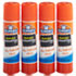 EPIE542 - Washable All Purpose School Glue Sticks, 4/Pack