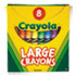 CYO520080 - Large Crayons, Tuck Box, 8 Colors/Box