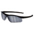 <strong>MCR&#8482; Safety</strong><br />Dallas Wraparound Safety Glasses, Black Frame, Gray Indoor/Outdoor Lens