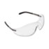 <strong>MCR&#8482; Safety</strong><br />Blackjack Wraparound Safety Glasses, Chrome Plastic Frame, Clear Lens