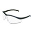 <strong>MCR&#8482; Safety</strong><br />Triwear Onyx Frame, Clear AntiFog Lens, Black Cord
