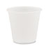 DCCY35 - Conex Galaxy Polystyrene Plastic Cold Cups, 3.5oz, 100 Sleeve, 25 Sleeves/Carton