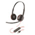 <strong>poly®</strong><br />Blackwire 3220, Binaural, Over The Head Headset