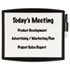 <strong>Fellowes®</strong><br />Partition Additions Dry Erase Board, 15 3/8 x 13 1/4, Dark Graphite Frame