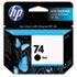 <strong>HP</strong><br />HP 74, (CB335WN) Black Original Ink Cartridge