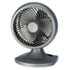"<strong>Holmes®</strong><br />Blizzard 9"" Three-Speed Oscillating Table/Wall Fan, Charcoal"