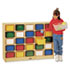 <strong>Jonti-Craft</strong><br />Tray Mobile Cubbie, 48w x 15d x 35.5h, Birch/Assorted