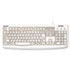 <strong>Kensington®</strong><br />Pro Fit USB Washable Keyboard, 104 Keys, White